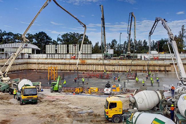 Заказать бетон в кашире как строить из газобетона или керамзитобетона